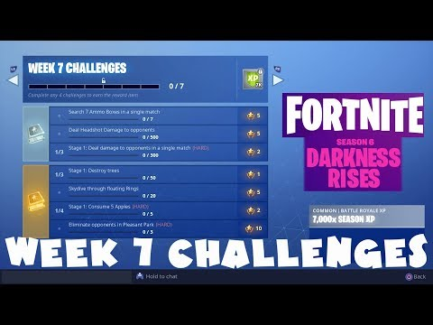 ALL Week 7 Challenges Guide - Fortnite Battle Royale Season 6
