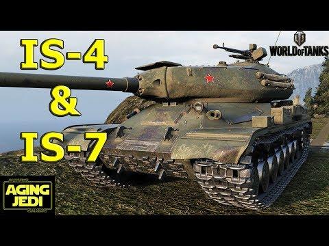 IS-4 & IS-7 Soviet Heavy Metal! - World of Tanks