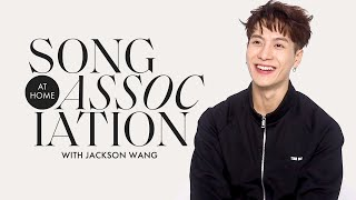 """Jackson Wang Sings Post Malone, GOT7, and """"100 Ways"""" in a Game of Song Association 