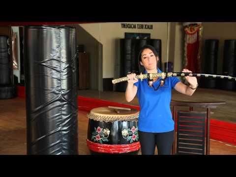 How to Display Samurai Swords : Martial Arts Understanding & Guidance