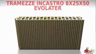 Fornaci DCB SpA - Tramezze incastro Evolater