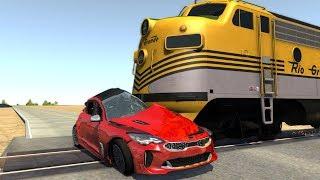 Crash Testing Real Car Mods   Beamng Drive Crashes Compilation