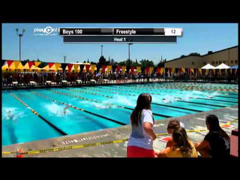 2013 CIF Central Section D-II Boys and Girls Swimming Championships