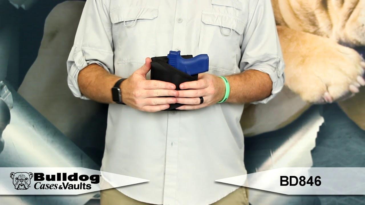 Bulldog Cases Nylon Inside the Pants Cell Phone Holster