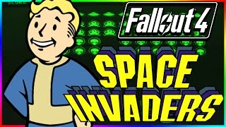 FALLOUT 4 Secrets & Easter Eggs: Space Invaders