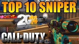 TOP 10 de mes clips sniper 2014 sur Call of duty | SkyRRoZ