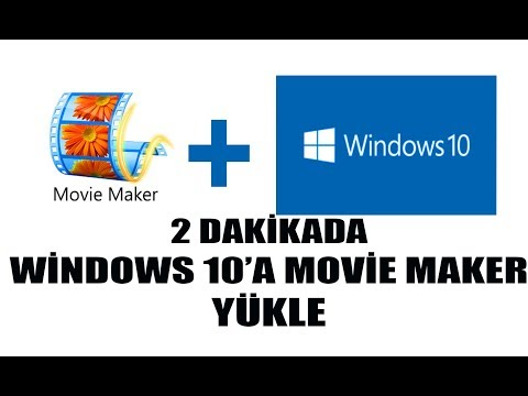 Windows 10 / 8 / 7  Movie Maker Yükleme 2019