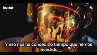 [ AUDIO DE LAS CINTAS EN ESPAÑOL ] THE VISITOR FORTNITE ( EVENTO EASTER EGG EL FIN )