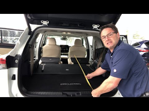 How Much Cargo Space Does 2020 Highlander Really Have?