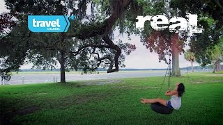 REAL: (sizzle) with Kinga Philipps  (a Color Earth Production for Travel Channel))