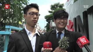 Malaysians take on Pen Pineapple Apple Pen