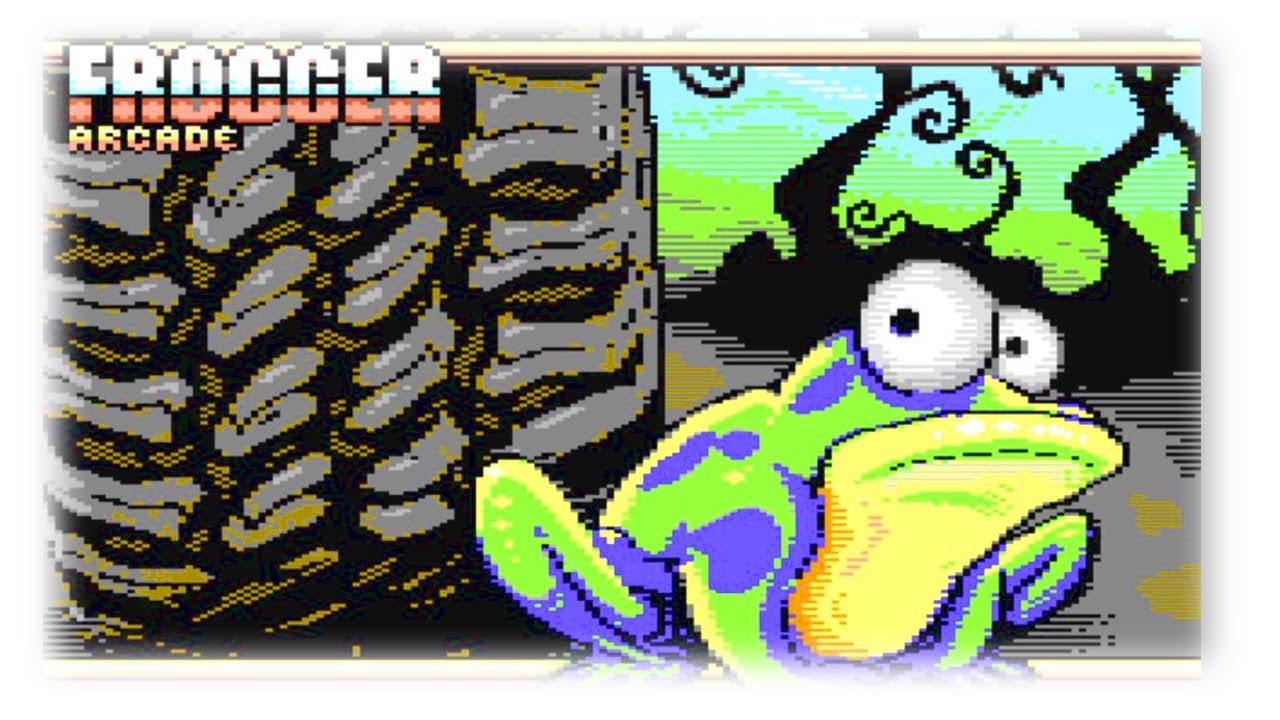 Zeigen Wo Der Frosch Die Locken Hat Frogger Homebrew C64