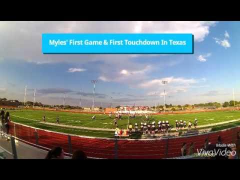 Myles First Texas TD (Rogene Worley Middle School)