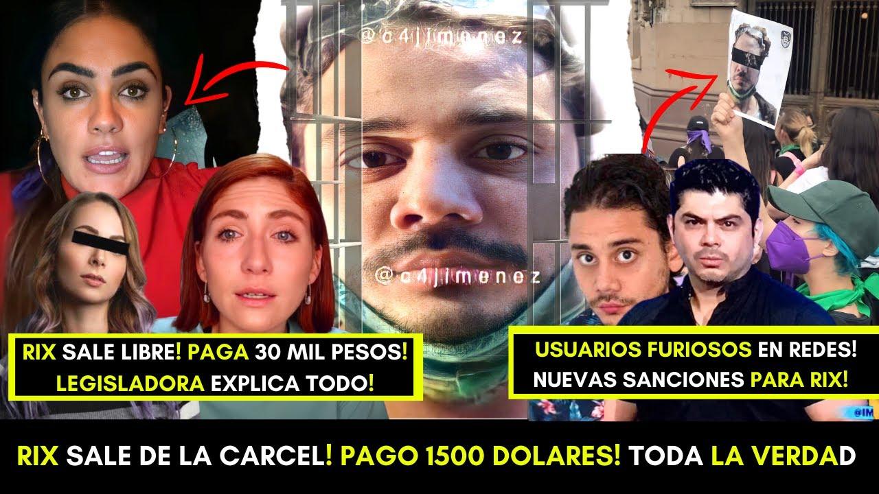 YOUTUBER RIX SALE LIBRE! PAGO 1500 DOLARES! SE REVELA LA OSCURA VERDAD DEL CASO! FURIA EN LAS REDES!