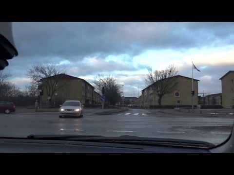 Suraj Sharma Toyota Yaris City Drive with Hari Sharma in Uppsala, Dec 24, 2016