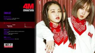 4MINUTE(포미닛) - 7th Mini Album 'Act. 7' (Audio Teaser)