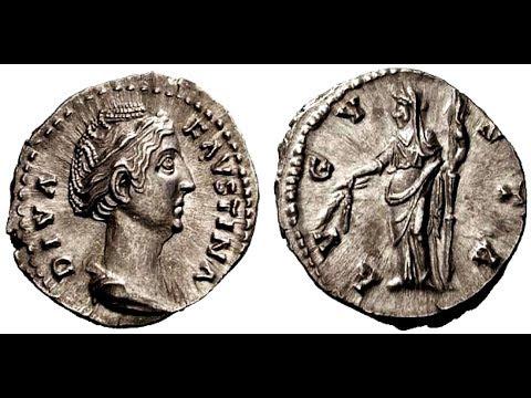 🔝 Монета, Денарий, 141 г. - 161 г., АНТОНИН ПИЙ, 🌍 Coin, Denarius, 141 - 161 AD ✅