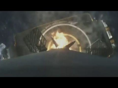 Incredible onboard footage shows successful SpaceX landing