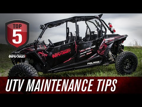 Top 5 UTV Maintenance Tips
