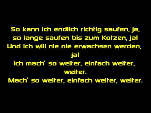 Taio Cruz ft. Florida - Hangover - (Auf Deutsch - AlexiBexi) - Official Lyrics On Screen