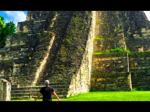Inside The Ancient Temples Of Tikal Youtube