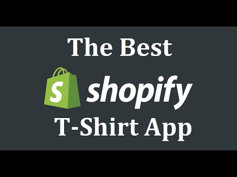 The Best App For Selling T Shirts On Shopify