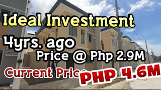 IDEAL INVESTMENT OF 2 STOREY  HOUSE ACQUIRED FOR ONLY PHP 2.9M and NOW WHAT A GOOD INVESTMENT RETURN
