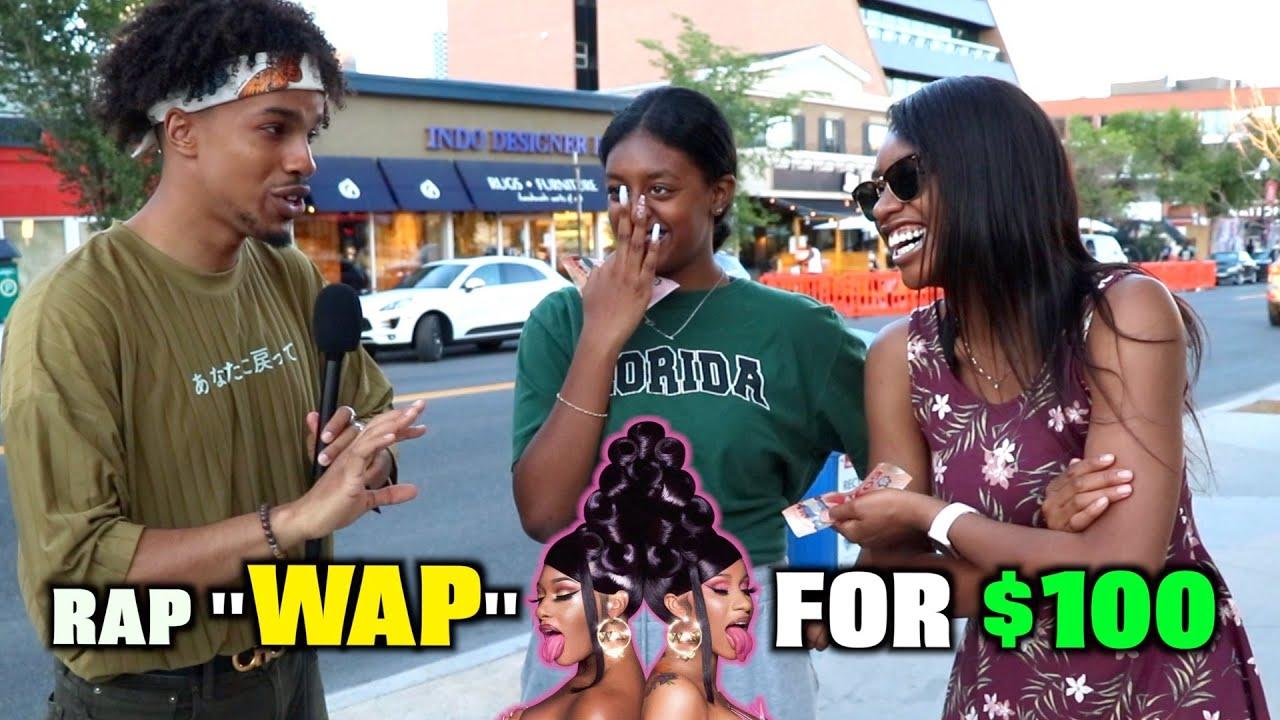 """Rap """"WAP"""" By Cardi B and Win $100!!"""