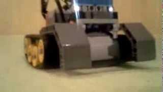 Lego Power Function Tank - pokus č.2