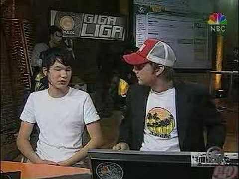 Michael Weicker on NBC Giga Games 2004