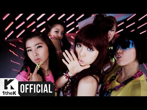 MV 4minute  Hot Issue