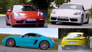 Porsche 718 Cayman - Choose The Color