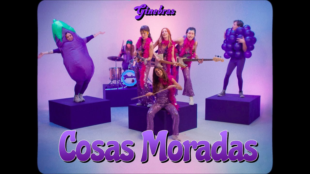 GINEBRAS - Cosas Moradas (Videoclip Oficial)