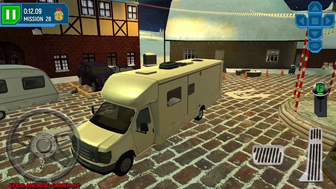 ski resort driving simulator 6 new camper truck vehicle. Black Bedroom Furniture Sets. Home Design Ideas