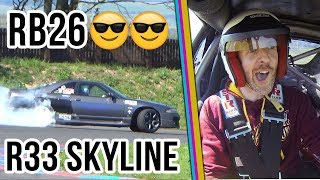 Drift My Ride Ep 28 - 525BHP RB26DETT Nissan R33 Skyline Holset HY35