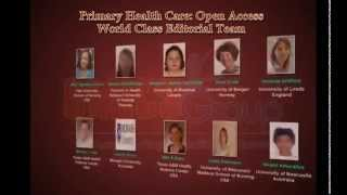 Primary Health Care  Open Access Journals OMICS Publishing Group