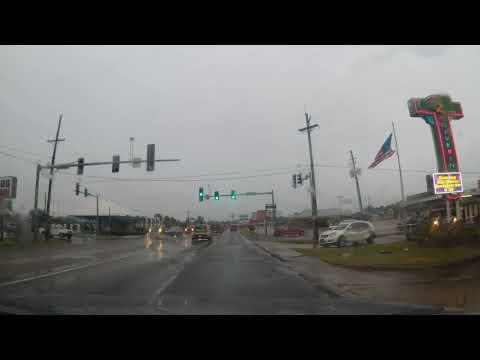 Driving around Mena, Arkansas