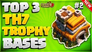 TOP 3 'AMAZING' TOWN HALL 7 (TH7) TROPHY BASE DESIGNS JULY 2018 #2- Clash Of Clans