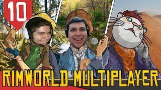 Progresso Comunista - Rimworld Multiplayer #10 [Série Gameplay Português PT-BR]