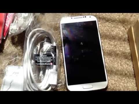 Samsung Galaxy S4 16GB 4G LTE Verizon Unboxing #vzwbuzz