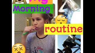 Мій ранок⛤my morning routine/павук в...😓 Video