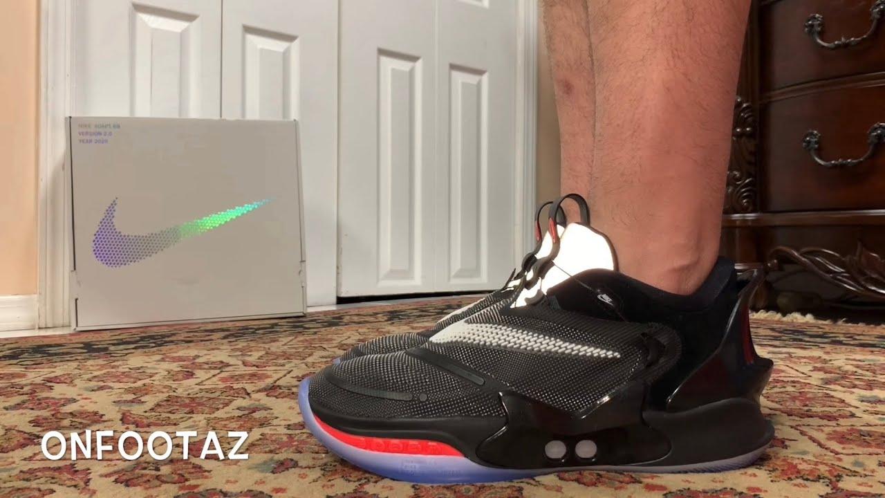 Nike Adapt Bb 2 0 Og On Foot Youtube