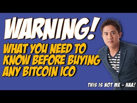 Bitcoin Warning!  What You Need To Know Before Buying Any ICO