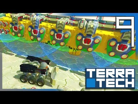 LARGER GEOTECH PRODUCTION BASE & CHECKING OUT HAWKEYE!! | TerraTech Campaign Gameplay E9
