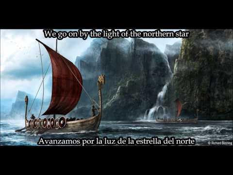 Týr-By the light of the northern star (lyrics-English/Spanish)