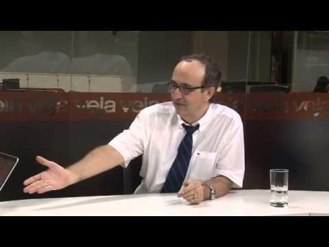 """""""O governo do PT saiu de vez dos eixos"""", diz Reinaldo Azevedo"""