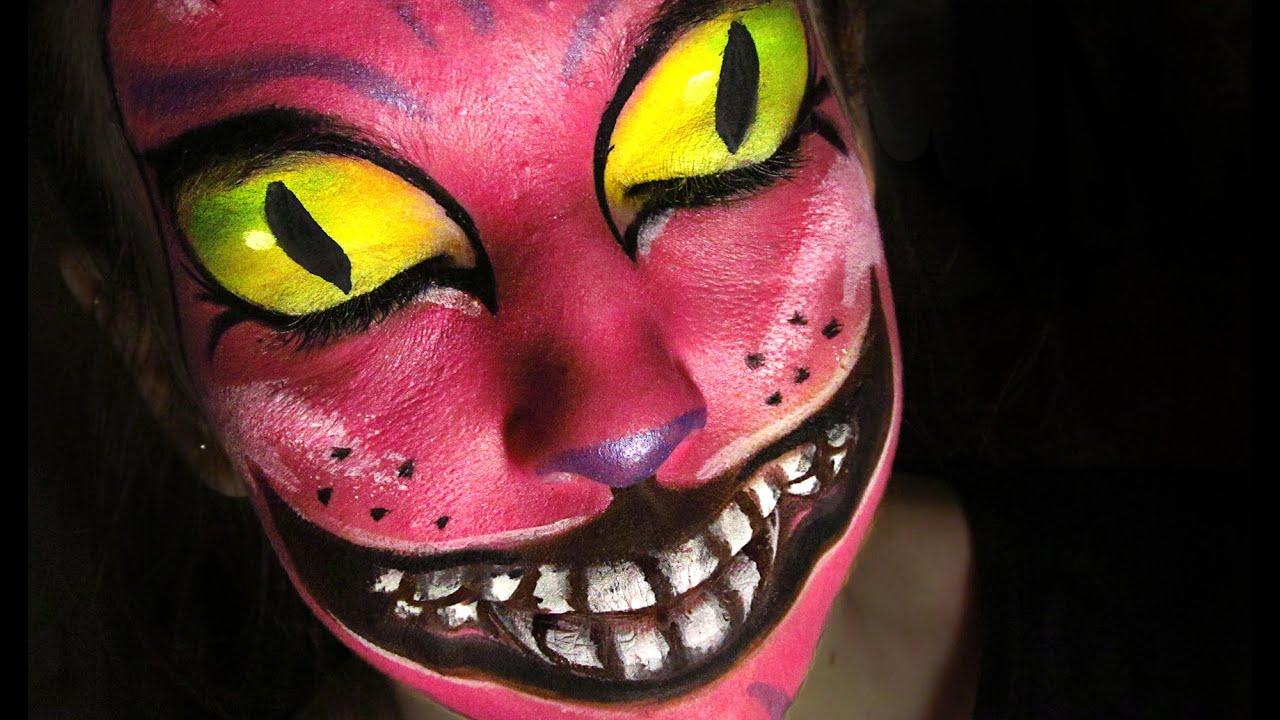 Maquillaje Gato de Cheshire | Halloween