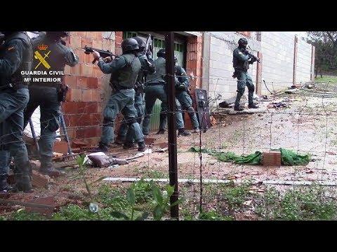 Incautadas cerca de 10 toneladas de hachís y 57 detenidos entre Tarifa y Estepona