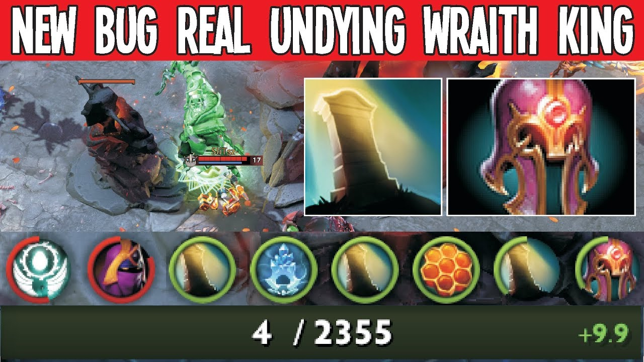 New Bug Unkillable Wraith King 7.23 [Fixed] | Dota 2 Bugs thumbnail