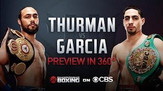 Thurman vs. Garcia: 360 Virtual Reality Preview | March 4 on CBS thumbnail